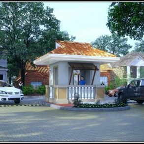 Bougainvilla Model of House and Lot at Villa Señorita Subdivision
