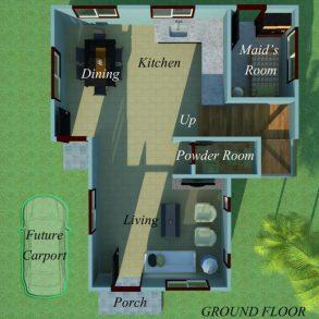 Sampaguita Model of House and Lot at Villa Señorita Subdivision