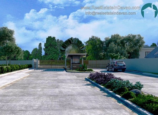 Plantacion, House and Lot in Mandug, Davao City, Low Cost Housing in Davao City, House and Lot Below 1 Million, RealEstateInDavao, House and Lot for Sale, South Side Plantacion Entrance, Entrance Gate