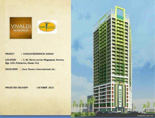 Vivaldi Davao, Davao condominium