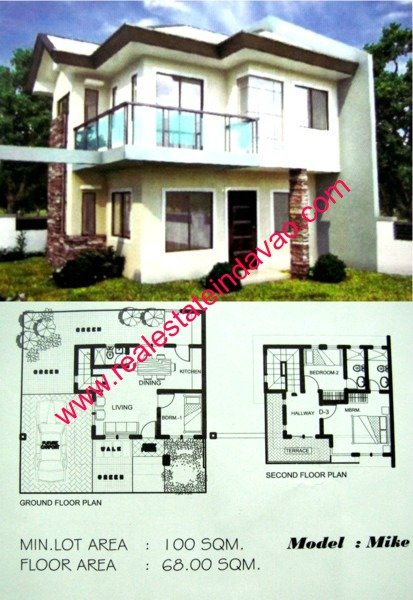 House and Lot for Sale at The Harmony Subdivision Cabantian, Davao City