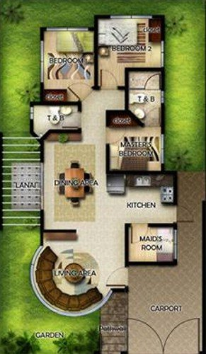 Oakridge Davao Zinnia Model Floor Plan