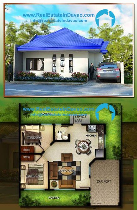 Oakridge Subdivision Davao Bluebell MOdel, Middle Cost Housing in Davao City, House and Lot for Sale in Davao City, Real Estate In Davao City, RealEstateInDavao.com