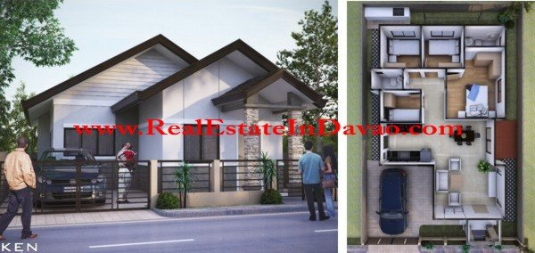 Mike Model House-Granville, Granville Subdivision, Mico Floor Plan, Davao Properties, Davao City Property, Davao Estate, Davao Subdivisions, Realestateindavao.com, Affordable Housing in Davao, Low-cost Housing in Davao