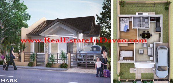 Mark Model House-Granville, Granville Subdivision, Mico Floor Plan, Davao Properties, Davao City Property, Davao Estate, Davao Subdivisions, Realestateindavao.com, Affordable Housing in Davao, Low-cost Housing in Davao