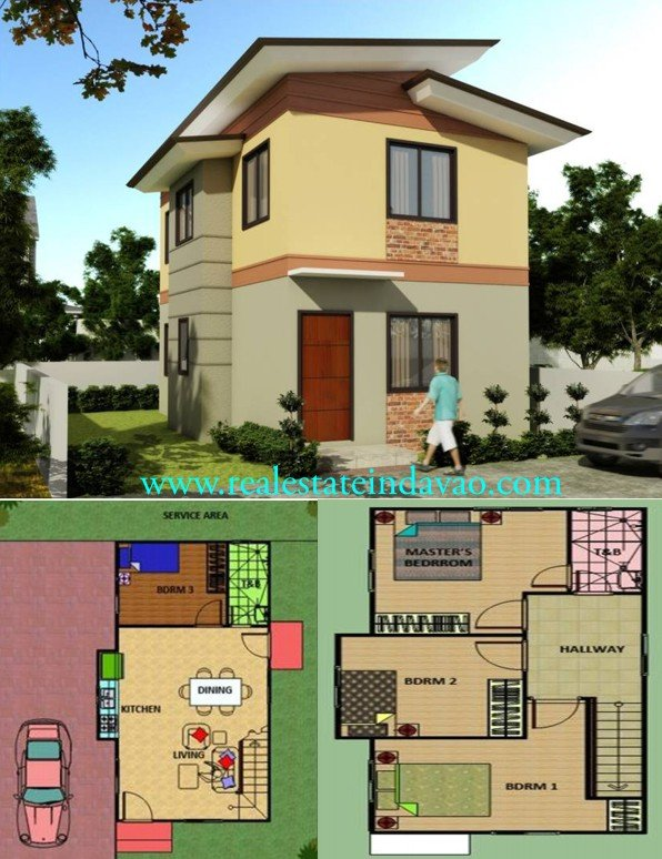 Rizal Model, Hidalgo Homes, Davao Properties, Davao City Property, realestateindavao.com, Mid-cost Subdivision in Davao City