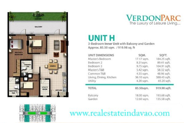 Davao Properties, Davao City Property, Davao Estate, Davao Condominiums, Davao Real Estate, Verdon Parc Davao