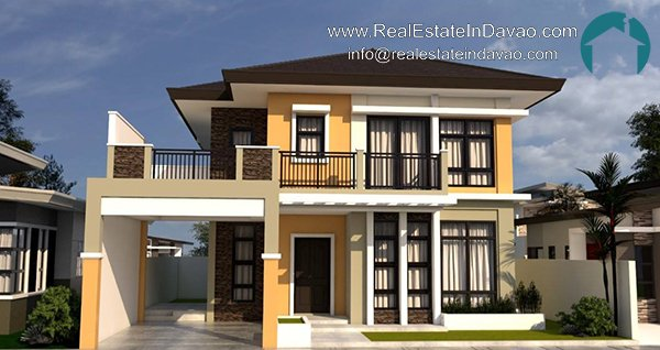 Ilumina Estates Subdivision Davao, Davao Subdivisions, Davao House and Lot, Real EState In Davao, Real Estate Property for Sale in Davao, House and Lot for Sale in Davao City, Ready to Occupy Houses for Sale in Davao City, Mid-cost Housing in Davao City, Santos Land Development Davao, House and Lot for Sale, Two Storey Unit, Model House 141