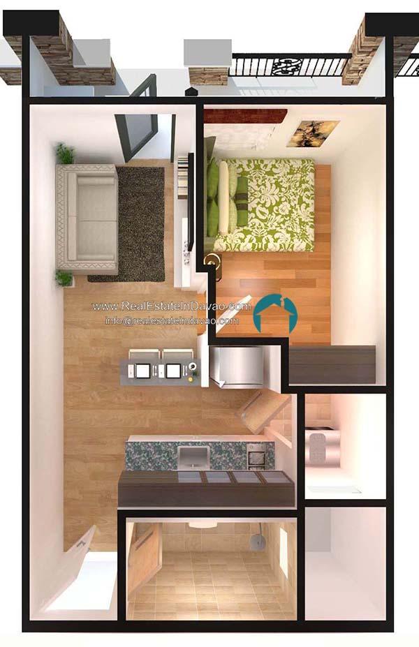 Arezzo Place Davao Condominium Floor Plan, Real Estate In Davao City