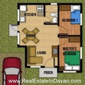 Gabriela House and Lot Model  at Aspen Heights, Communal, Davao City