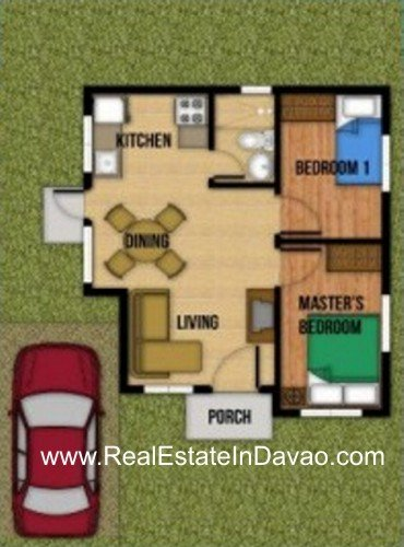 Aspen Heights Davao, Gabriela Model House at Aspen Heights Davao, Real Estate In Davao City, Davao Subdivisions, Davao Real Estate for Sale, Davao City Middle Cost Housing