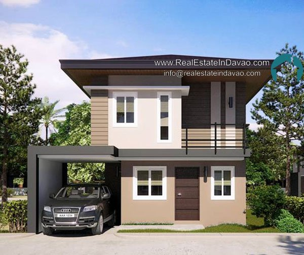 Uraya Residences Cluster 6 Model House Theresa - Single Detached 2 Storey