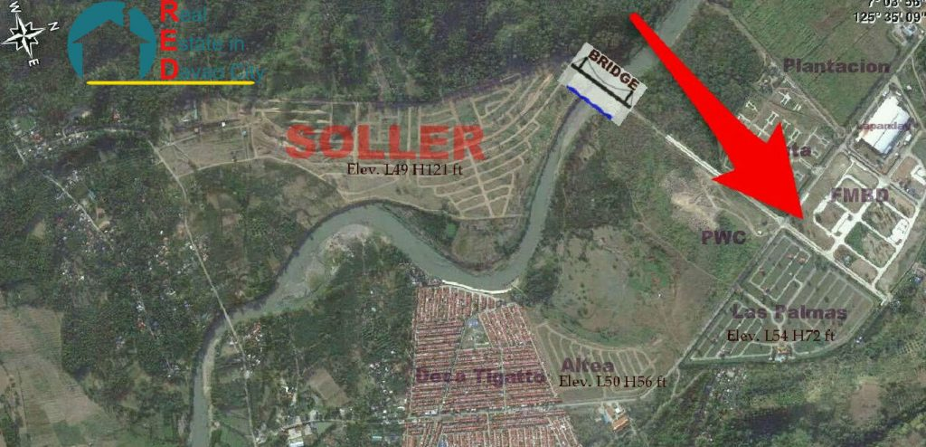 Soller Residences Davao Vicinity Map, Lots for Sale in Soller Residences