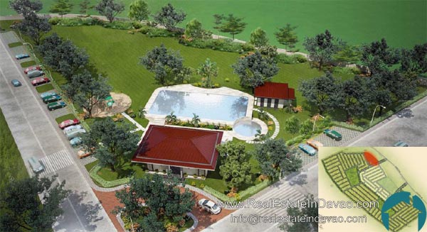 Narra Park Residences Cabaña and Swimming Pool, Davao City, Tigatto, Middle Cost Housing, High End Housing
