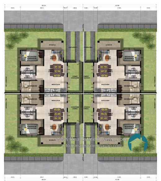 Narra Park Residences Davao Bungalow Orientation of Houses, Davao City, Tigatto, Middle Cost Housing, High End Housing