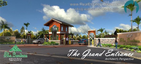 Davao House and Lot, Davao Subdivisions, House and Lot for Sale in Davao City, Mid-cost Housing in Davao City, Real Estate in Davao, Real Estate Property for Sale in Davao, Urban East Development Inc, The Gardens at South Ridge, Catigan Toril, High End Housing in Davao City, Real Estate in Davao, realestateindavao