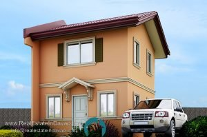 Camella Homes Davao Easy Home Series, Bella Model Camella Davao, RealEstateinDavao.com,House and Lot for Sale Near Davao Airport