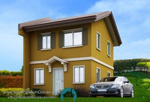 Cara Model - Camella Homes Davao Easy Home Series, House and Lot for Sale in Davao City, Davao Subdivisions, RealEstateInDavao.com