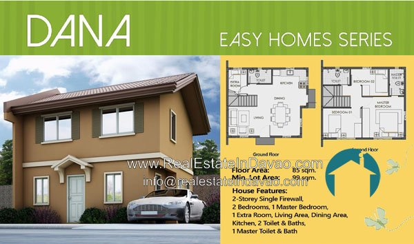 Camella Cerritos Mintal House and Lot for Sale, Low Cost Housing in Mintal Davao City, Middle Cost House and Lot in Mintal Davao City