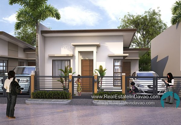 Gabriel House Model Granville Crest Davao, Granville Crest Subdivision Catalunan Pequeno, Low Cost Housing in Davao City