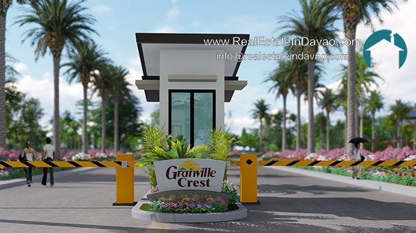 Granville Crest Subdivision Entrance Gate