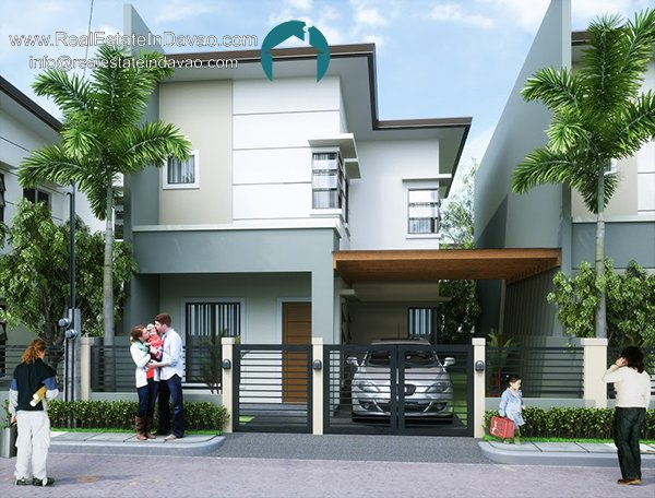 Matthew - 2 storey House and Lot at Granville Crest Subdivision. Granville Crest Catalunan Pequeno
