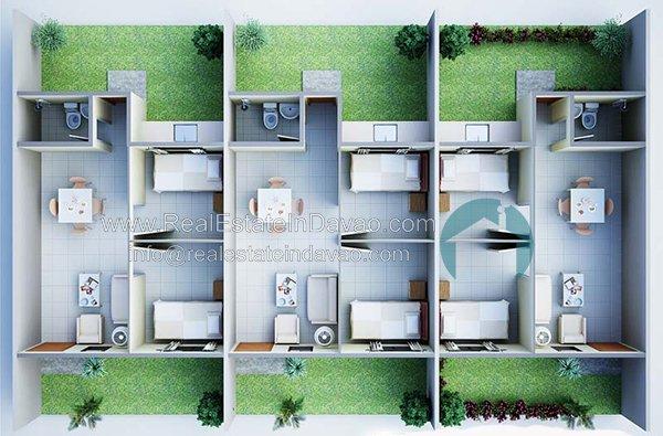 Rafael Floor Plan - Granville Crest Davao, Granville Crest Subdivision Davao City