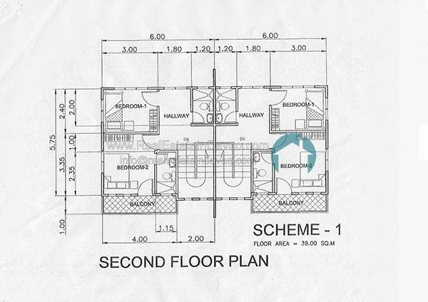 The Wisdom Subdivision Davao, 2nd floor plan The Wisdom Subdivision Davao,The Wisdom Subdivision Catalunan Pequeno, Davao City, Davao Townhouses, House and Lot for Sale in Davao City, Davao Housing, Davao Subdivisions, Davao Homes, Davao Real Estate Properties for Sale, Middle Cost Housing in Davao City, RealEstateInDavao.com, Catalunan Pequeno Subdivisions, Catalunan Pequeno Housing