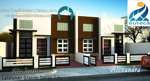 Alexandra-Single-Storey-Duplex-Alta Josefina, Catalunan Grande, Middle Class Subfivision,Davao City Properties, Davao Homes, Davao House and Lot for Sale, Davao real estate, House and Lot for Sale in Davao, house and lot package, pag-ibig financing, davao real estate properties for sale