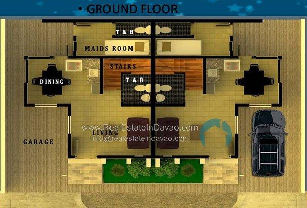 Athalia-Two-Storey-Duplex-Alta Josefina, Catalunan Grande, Middle Class Subfivision,Davao City Properties, Davao Homes, Davao House and Lot for Sale, Davao real estate, House and Lot for Sale in Davao, house and lot package, pag-ibig financing, davao real estate properties for sale