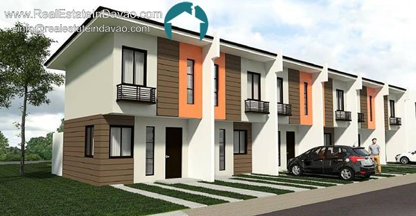 Navona Davao – Affordable Townhouse – Matina, Davao City