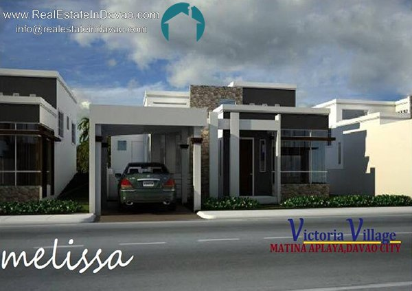 Melissa House and Lot at Victoria Village, Matina Davao City