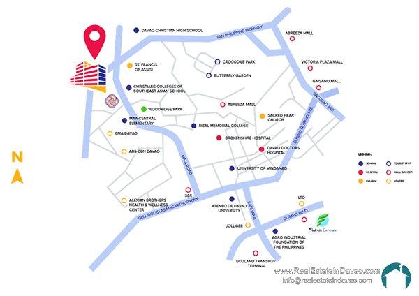 Davao City, Legacy Leisure Residences, Condominium, Maa Road, Mixed-use condominium, RealEstateInDavao, Real Estate In Davao City