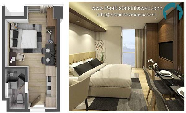 Aeon Bleu, Real Estate In Davao City, RealEstateindavao, Condominiums in Davao City, Residential Condominium, Real Estate Investment in Davao City, Davao Real Estate, Davao City Properties for Sale, Studio Unit