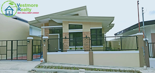 Ready for Occupancy Bungalow House at Ilumina Estates Davao
