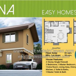 House and Lot for Sale at Camella Cerritos Mintal Davao City