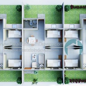 Rafael Rowhouse 2 Bedroom 1 Toilet and Bath at Granville Crest Davao