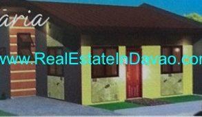 Affordable Housing at Las Casas de Maria, Indangan, Davao City